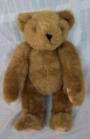 "Vermont Teddy Bear BROWN JOINTED TEDDY BEAR 15"" Plush STUFFED ANIMAL Toy"