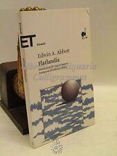 LETTERATURA FANTASTICA: Edwin A. Abbott, Flatlandia, Einaudi 2011, Fantasy