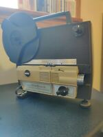 Vintage Montgomery Ward Duo 8 Movie Projector Model 808 Tested  Works 8MM