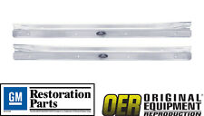 OER 1968-1979 Nova Licensed GM Restoration Parts Riveted Sill Scuff Plates- Pair