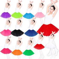 Tüllrock Tütü Petticoat Ballettkleid Ballettrock Rock Ballett Für kinder bis 12