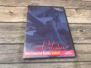 Aero Pilates Spine Corrector Barrel Workout *DVD Only* Marjolein Brugman NEW