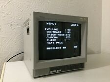 Sony PVM-14N5MDE Color Video Monitor in good condition