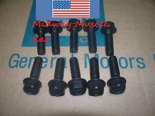correct intake manifold bolts Pontiac 350 389 400 428 455 NOS R gto trans am t/a
