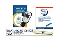 OneTouch Verio Flex Meter(Open Box)+ Lancet 100 ct & Lancing Device