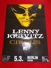 +++ 1995 lenny kravitz konzertplakat 5.3.1995 berlin deutschland 1st print