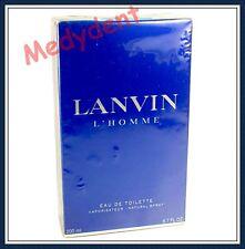 Lanvin L'Homme By Lanvin Eau De Toilette 6.7 oz / 200 ML For Men New In Box