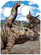 Dinosaurio TAMAÑO NIÑO SOPORTE Silueta de cartón / Figura Pie - fiesta foto