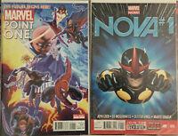 Marvel Now! Nova Sam Alexander 1st Appearance Lot 25 Comics Jeph Loeb