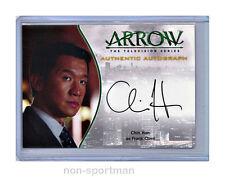 ARROW SEASON 1 CRYPTOZOIC A17 CHIN HAN AUTO