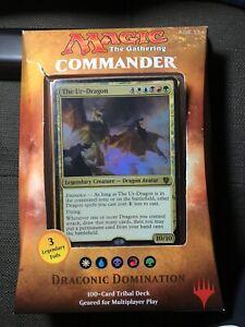 Magic the Gathering Commander 2017 Draconic Domination
