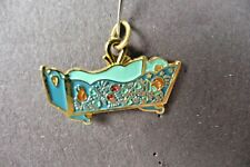 1994 Cradle Charm Decorative Arts Collection Commemorative Enamel Jewelry Gold