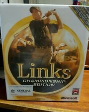 Links Championship Edition 2001 (BIG BOX)NEW SEALED - PC GAME - FAST POST