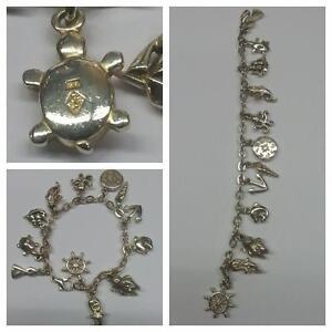 Pierre Lang Armband 925er Silber Bettelarmband mit 12 verschiedenen Motiven