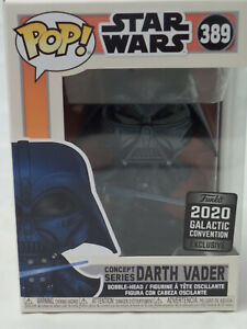 POP Funko Star Wars, concept serie Darth Vader 389 Galactic covention exclusive
