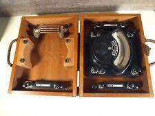 Vintage WW II Era Yew Yokogawa Japanese Voltammeter Electrical Instrument