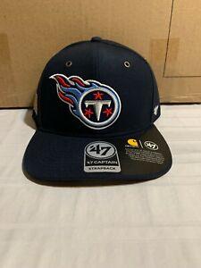 Tennessee Titans NFL '47 Brand Carhartt Mens Navy Captain Strapback Hat