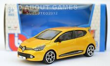 RENAULT CLIO Yellow 1:43 Car NEW Model Diecast Models Cars Die Cast Metal