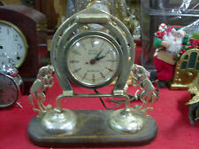 Vintage Gibraltar Electric Horse  Clock