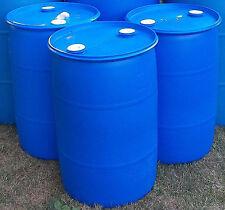 205 litres Drum,44 gallon (Plastic) Closed Top Pontoons (Bung Drums) $