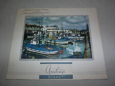 VINTAGE 1959 MEADOW VIEW CHICKS  GREENWICH NY BOATS IN HARBOR  CALENDAR