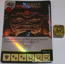 Foil M.O.D.O.K: MASTER OF A.I.M 101 Deadpool Marvel Dice Masters Rare MODOK AIM