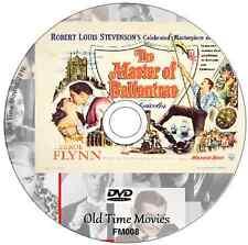 The Master of Ballantrae - Errol Flynn and Roger Livesey 1953 DVD Film
