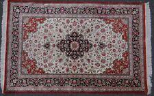 """Seidenteppich """"Ghom"""", 152x102 cm, gut erhalten   (277-8002)"""