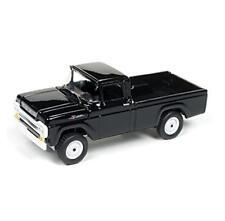 1/64 Johnny Lightning 1959 Ford F-250 Pickup Truck Diecast Model Black JLCP7005