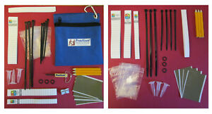 Practical Geocaching® - Deluxe Cache Repair Kit & Refill - 82 pcs - Free Freight