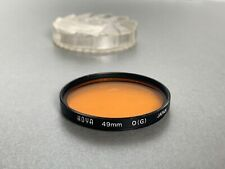 Hoya 49mm O (G)  Orange  Filter