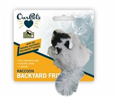 OurPet's - Play-N-Squeak Backyard Cirtters Raccoon Free Shipping