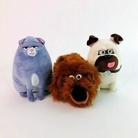 TY Beanies The Secret Life of Pets Duke Mel Dog Chloe Cat Soft Plush Fluffy Toy