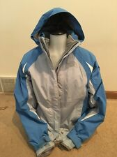 NORTH FACE Hooded Jacket ARCTIC PARKA  HYVENT Remove Hood & Fleece Jacket Blue M