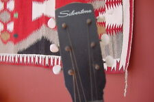 VINTAGE SILVERTONE GUITAR SMALL BLUES GUITAR 50S NEEDS RESTO OR FOR SLIDE GUITAR