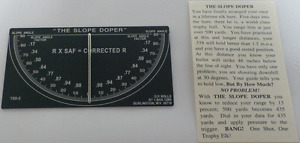 Slope Doper, Target Shooting / Hunting, Works For All Rifles