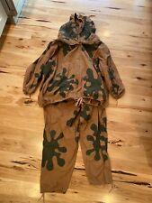 Ww2 Russian Amoeba camouflage sniper suit Original Rare Vintage uniform