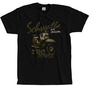 Schwalbe T-Shirt Ostkult Simson Moped IFA DDR Retro S - 5XL