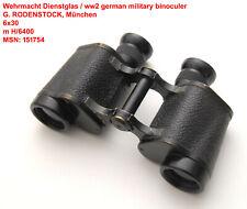 Wehrmacht Dienstglas G. RODENSTOCK,Feldstecher,ww2 army binocular,field glass,WH