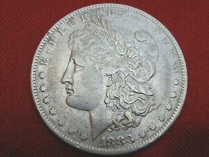 356- 1 DOLAR MORGAN DE PLATA, NUEVA ORLEANS 1883, 38 mm. 26,60 gr.