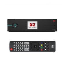 Red Eagle TwinBox Full HDTV Linux E2 Sat Receiver 1080p OpenATV LCD Schwarz HDMI