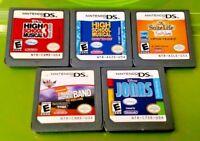 Nintendo DS Lite 2ds 3ds Disney Games Lot Suite Life Jonas High School 1 + 3