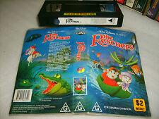 VHS *THE RESCUERS (1977)* Mega RARE FIND Oz Roadshow Disney BLACK DIAMOND Issue!