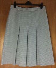 Calf Length Polyester Check Pleated, Kilt Skirts for Women