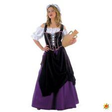 Damen Kostüm Wirtin Gr. S- XXL Magd Bäuerin Fasching Karneval Mittelalter