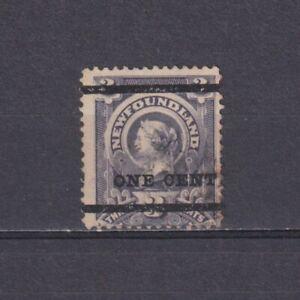 NEWFOUNDLAND CANADA 1897, SG# 80, CV £40, Used