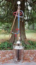 Copper Moonshine Still - Beer Keg Kit - Water Distiller - Reflux Column Alcohol