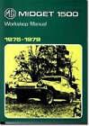 MG Midget 1500 Workshop Manual 19751979 Official Workshop Manuals, Brooklands Bo