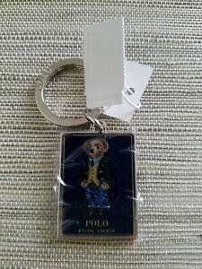 """New Men's """"Polo Ralph Lauren""""  Bear Key Holder"""