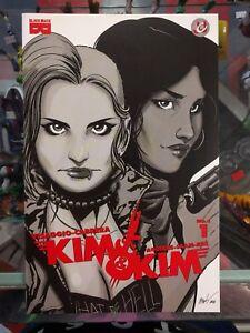 KIM AND KIM #1 JESSE JAMES COMICS EXCEED EXCLUSIVE BLACK MASK COMIC BOOK NM